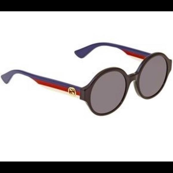 NWT Gucci 51mm Oval Sunglasses